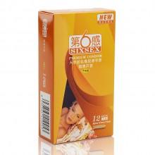 【计生避孕】第6感 超薄芦荟型 避孕套12只装