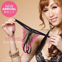 【情趣内衣】VitaBilla唯它彼乐 靓丽蝴蝶黑 女士内裤透视情趣内裤