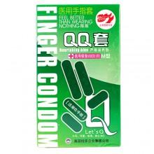 【计生避孕】【避孕套】 手指抠抠套 QQ套芦荟滋养型情趣套10只装