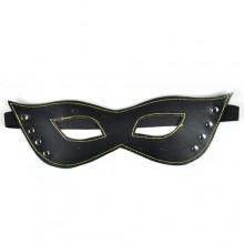 【情趣用品】四合扣型眼罩舞台道具(黑色)另类特殊情趣用品