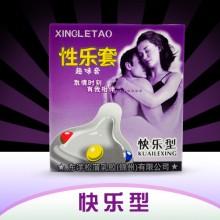 【计生避孕】性乐套快乐型趣味安全套单只装避孕套