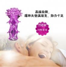【男用器具】正天水晶花套爆炸头水晶镂空手指扣扣套NO.00240