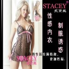【情趣内衣】STACEY史黛丝黑色软纱情趣内衣8921(售完下架)