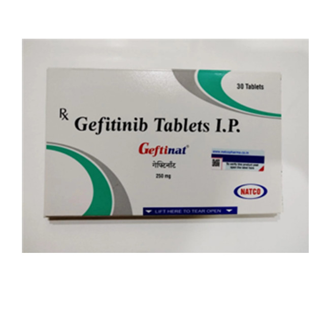 吉非替尼(易瑞沙)Geftinat(Geftinib) 250mg*30片(印度NATCO)【肺癌】