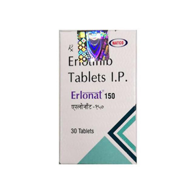 厄洛替尼(特罗凯)Erlonat(Erlotinib)150mg*30片(印度NATCO)【肺癌】