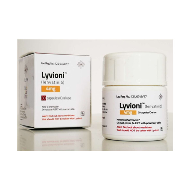 仑伐替尼(乐卫玛,7080) 4mg*30粒Lyvioni(Lenvatinib)(老挝TLPH)【肝癌,肾癌,甲状腺癌】