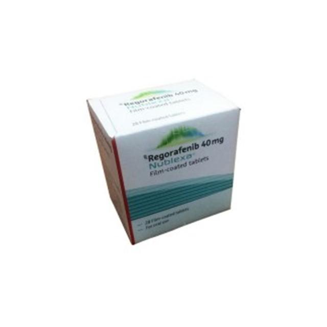 瑞戈非尼(拜万戈)40mg*28片(绿盒)Nublexa(Regorafenib)(印度拜耳)【胃癌,肠癌,肝癌】