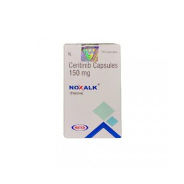 塞瑞替尼(赞可达,378)150mg*30粒Noxalk(Ceritinib)(印度NATCO)【肺癌】