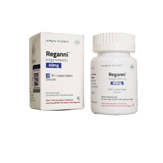 瑞戈非尼(拜万戈)40mg*28片Reganni(Regorafenib)(老挝 TLPH)【胃癌,肠癌,肝癌】