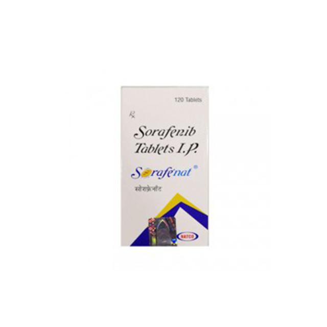 索拉非尼(多吉美)0.2*120粒Sorafenat(Sorafenib)(印度NATCO)【肝癌,肾癌】