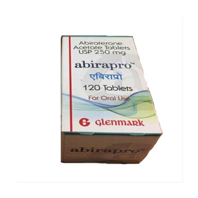 阿比特龙(泽珂) 250mg*120片ABIRAPRO(ABIRATERONE )(印度GLENMARK)【前列腺癌】
