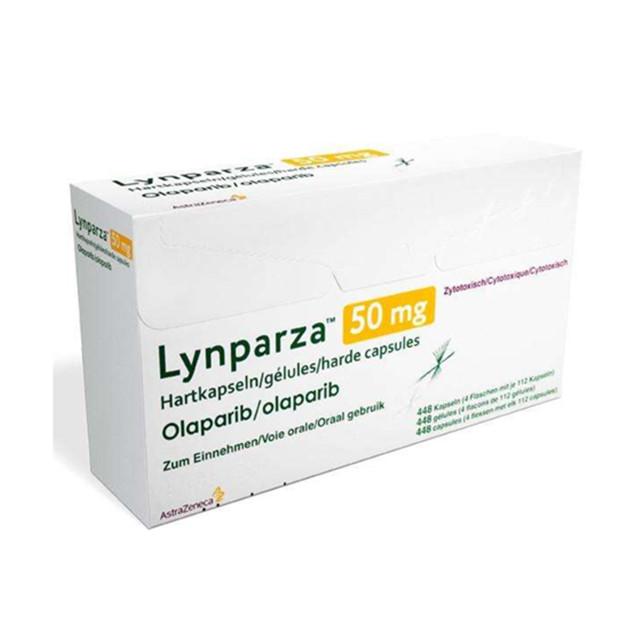 奥拉帕尼(利普卓,2281)50mg*448片Lynparza(Olaparib)(印度阿斯利康)【卵巢癌,乳腺癌】