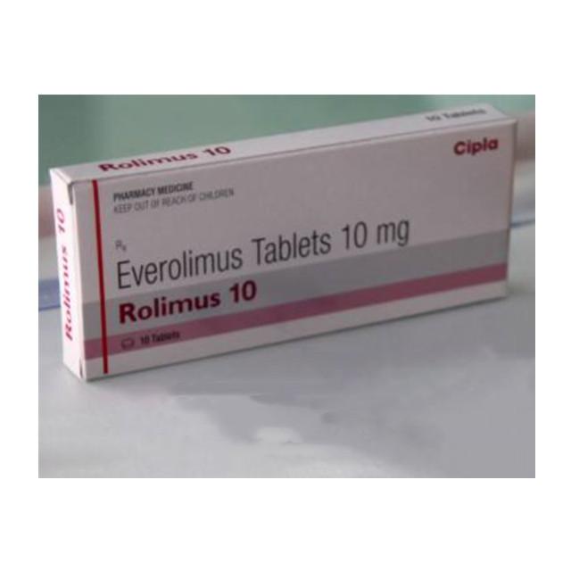 依维莫司(飞尼妥)10mg*10片Rolimus(Everolimus)(印度cipla)【肾癌】