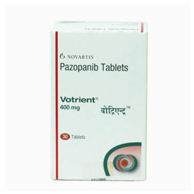 培唑帕尼(维全特)400mg*30片VOTRIENT(Pazopanib)(印度诺华)【肾癌】