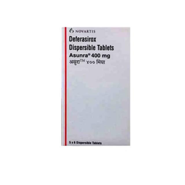 地拉罗司(恩瑞格)400mg*30片ASUNRA(Deferasirox)(印度诺华)【地中海贫血症,白血病】