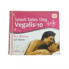 伟姐(他达拉非)10mg*4片/盒Vegalis(Tadalafil)(印度Syncom)【女性性冷淡】女版伟哥 希爱力