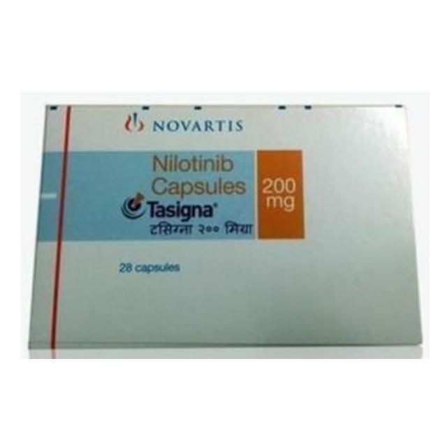 尼洛替尼(达希纳)200mg*28片TASIGNA(Nilotinib)(印度诺华)【白血病】