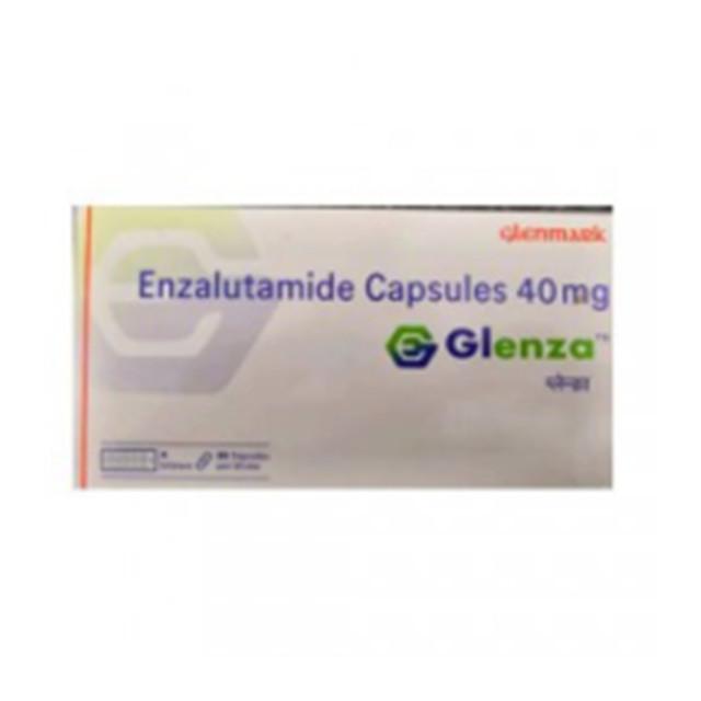 恩杂鲁胺40mg*112片Glenza(Enzalutamide)(印度Glenmark)【前列腺癌】