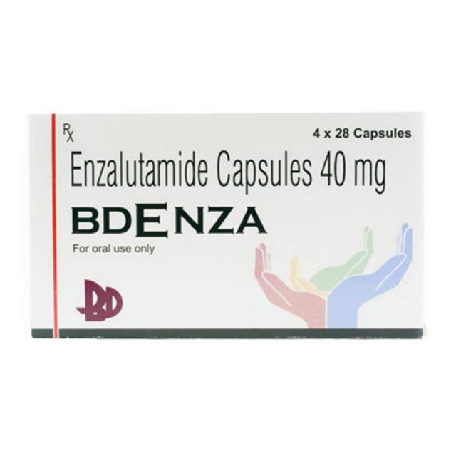 恩杂鲁胺40mg*112片BDENZA(Enzalutamide)(印度普拉卡什)【前列腺癌】