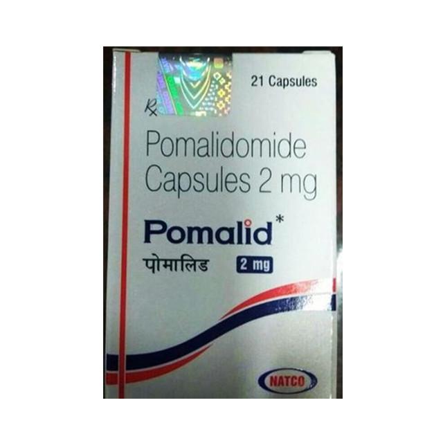 泊马度胺2mg*21片Pomalid(Pomalidomide) (印度NATCO)【骨髓瘤】