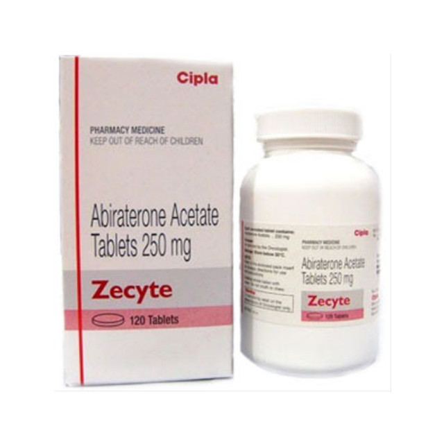 阿比特龙(泽珂) 250mg*120片ZECYTE(ABIRATERONE)(印度西普拉)【前列腺癌】