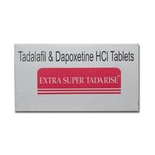 超级希爱力双效(他达拉非40mg/达泊西汀60mg)*10片/板(印度Sunrise)【助勃延时】EXTRA SUPER TADARISE(Tadalafil+Dapoxetine),必利劲,超强周末伟哥