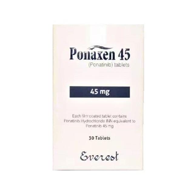 普纳替尼 45mg*30片Ponaxen(Ponatinib)(孟加拉珠峰)【白血病】