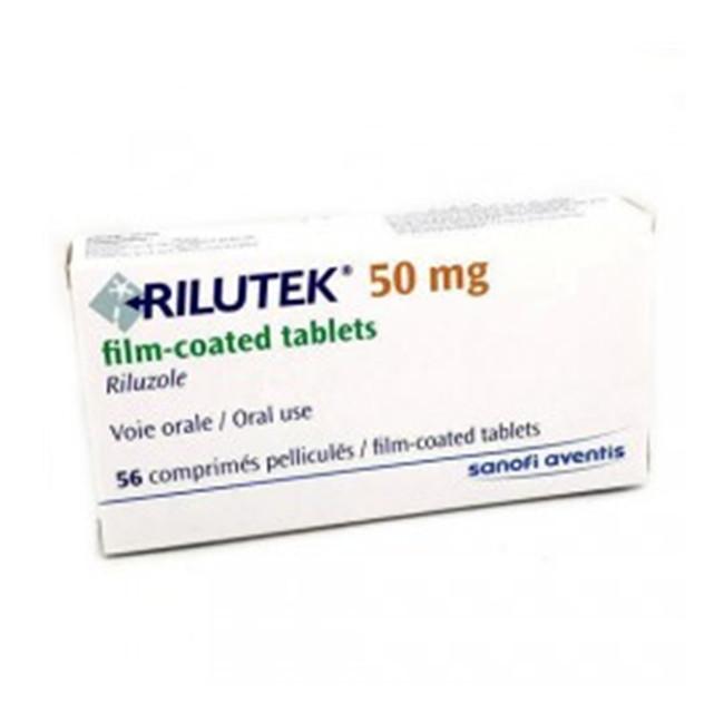 利鲁唑(力如太)50mg*56片Rilutek(Riluzole) (TR,土耳其版,赛诺菲安万特)【肌萎缩侧索硬化症】