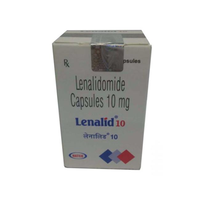 来那度胺(瑞复美) 10mg*30片Lenalid(Lenalidomide)(印度NATCO)【骨髓瘤】