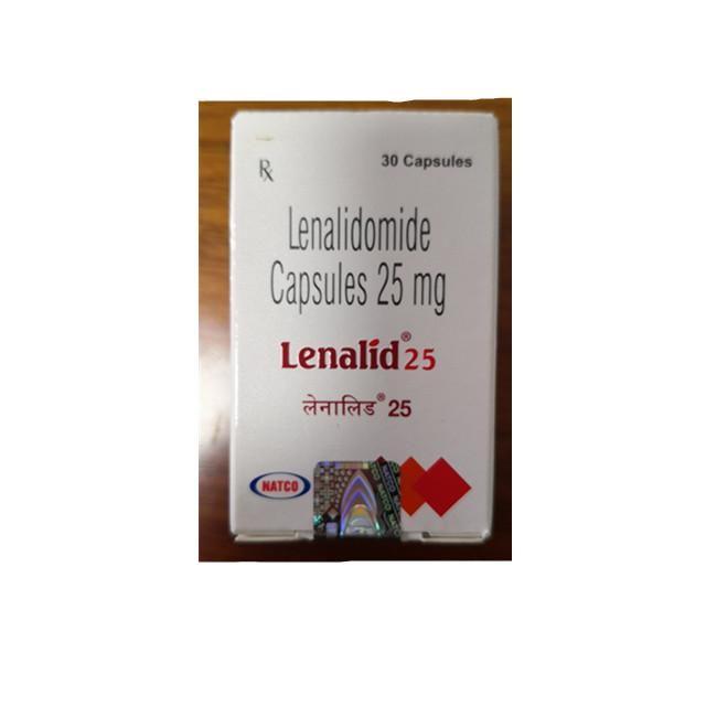 来那度胺(瑞复美) 25mg*30片Lenalid(Lenalidomide)(印度NATCO)【骨髓瘤】